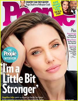 Angelina Jolie on Her Split From Brad Pitt: 'I Am a Little Bit Stronger'