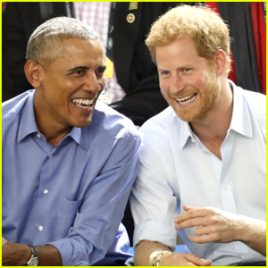Barack Obama & Prince Harry Cheer on Wheelchair Basketball at Invictus Games!
