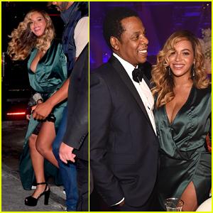 Beyonce & Jay-Z Couple Up for Rihanna's Diamond Ball