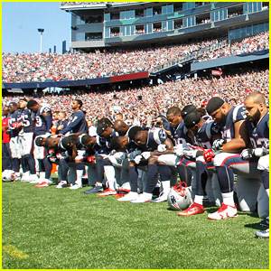 Celebrities React to NFL National Anthem Kneeling Protests - Read the Tweets
