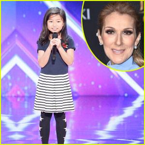 Celine Dion Sends AGT's Celine Tam a Special Message!