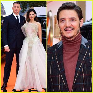 Channing Tatum Jenna Dewan Couple Up For Kingsman The Golden Circle World Premiere
