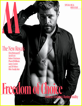 Chris Hemsworth's Shirtless 'W' Cover Puts His Abs on Full Display!