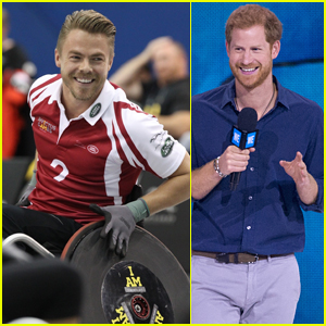 Derek Hough Competes in Prince Harry's Invictus Games!