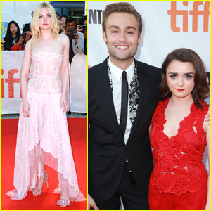 Elle Fanning Joins Maisie Williams & Douglas Booth at the 'Mary Shelley' TIFF Premiere