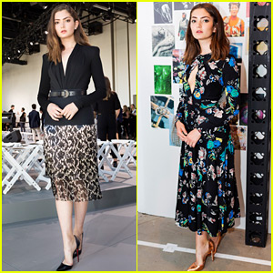 Transparent's Emily Robinson Takes NYFW By Storm as a College Student!