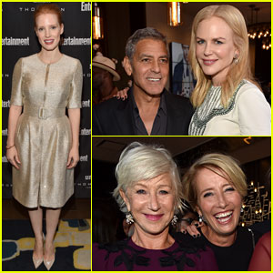 George Clooney, Nicole Kidman, & More Mingle at Star-Studded TIFF Party!