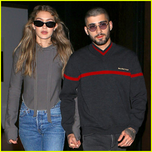Gigi Hadid & Zayn Malik Couple Up for Date Night in NYC
