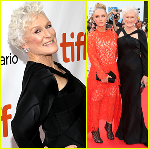 Glenn Close & Daughter Annie Starke Premiere Their Film 'The Wife' at TIFF