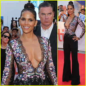 Halle Berry Looks Hot at 'Kings' Premiere at TIFF 2017!