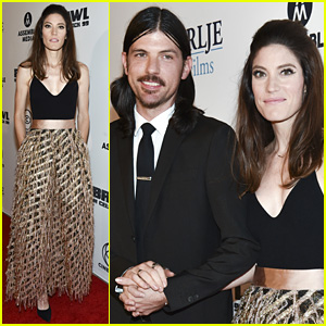 Jennifer Carpenter's Husband Seth Avett Supports Her at 'Brawl in Cell Block 99' Premiere