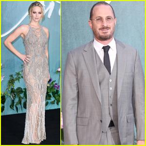 Jennifer Lawrence & Boyfriend Darren Aronofsky Premiere 'mother!' in London