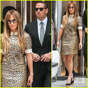 Jennifer Lopez & Alex Rodriguez Get Seriously Chic For Afternoon Outing