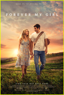 Jessica Rothe & Alex Roe Hold Hands in 'Forever My Girl' Poster