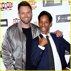 Joel McHale Supports Pal Danny Pudi at 'Tiger Hunter' Premiere
