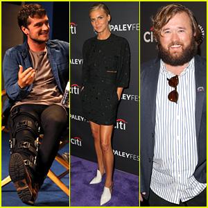 Josh Hutcherson & 'Future Man' Co-Stars Preview New Hulu Series at PaleyFest