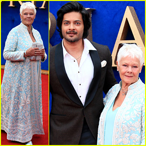 Judi Dench & Ali Fazal Premiere 'Victoria & Abdul' in London!