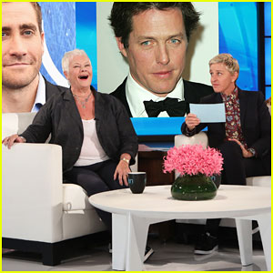 Judi Dench Plays 'Who'd You Rather' on 'Ellen', Chooses Johnny Depp as Sexiest Co-Star!