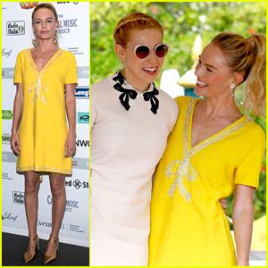 Kate Bosworth & Zosia Mamet Buddy Up for Miu Miu in Venice