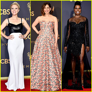 Kate McKinnon, Vanessa Bayer & Leslie Jones Look Incredible at Emmys 2017!