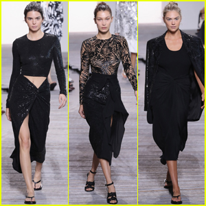Kendall Jenner & Bella Hadid Hit the Runway During Michael Kors NYFW Show
