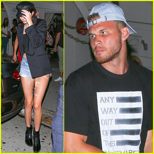 Kendall Jenner Enjoys Date Night with Rumored Boyfriend Blake Griffin