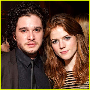Kit Harington & Rose Leslie's Engagement Confirmed in Wedding Announcement!