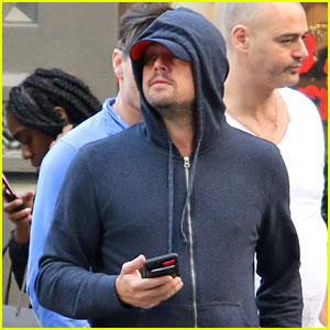 Leonardo DiCaprio Hits Up Rihanna's Fashion Show After Party