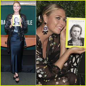 Maria Sharapova Signs Copies of Her Autobiography in NYC