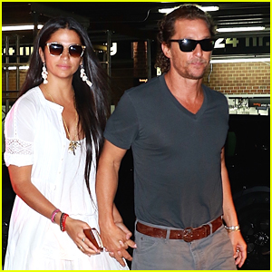 Matthew McConaughey & Wife Camila Alves Hold Hands on Date Night in NYC