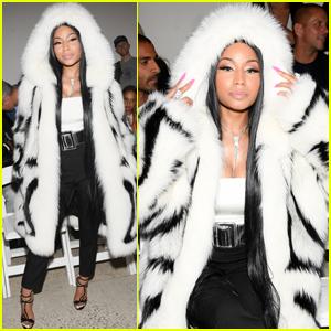 Nicki Minaj Gets Fierce at Oscar De La Renta NYFW Show!
