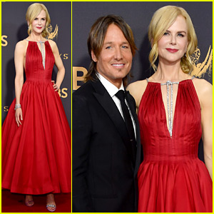 Nicole Kidman & Husband Keith Urban Couple Up at Emmys 2017!
