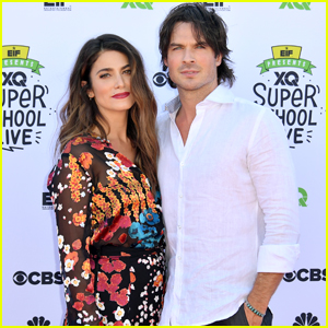 Nikki Reed & Ian Somerhalder Step Out at 'XQ: The Super School Project' After Welcoming First Child
