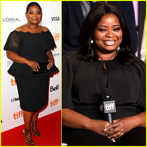 Octavia Spencer Stuns at 'Shape of Water' Premiere at TIFF