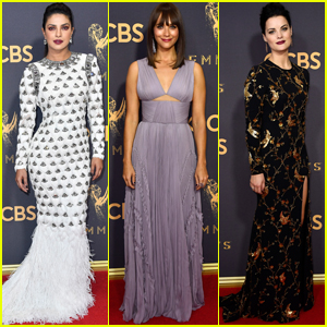 Priyanka Chopra, Rashida Jones & Jaimie Alexander Get Glam For Emmys 2017