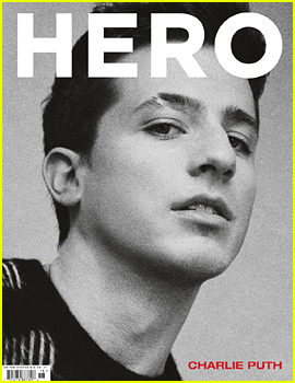 Charlie Puth Goes Shirtless for 'Hero' Mag!