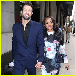 Rachel Lindsay & Bryan Abasolo Look Totally in Love While Visiting 'The Wendy Williams Show'!