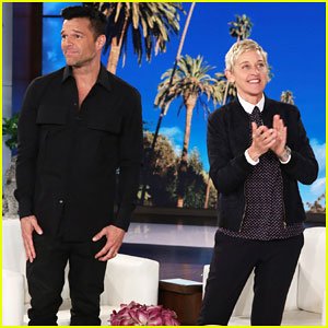 Ricky Martin Raises Awareness for Puerto Rico Hurricane Relief Efforts on 'Ellen' - Watch Here!