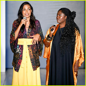 Rosario Dawson & Abrima Erwiah Present Their NYFW Collection