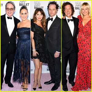 Sarah Jessica Parker, Keri Russell, & Malin Akerman Have Date Night with Their Guys at NYC Ballet Gala!