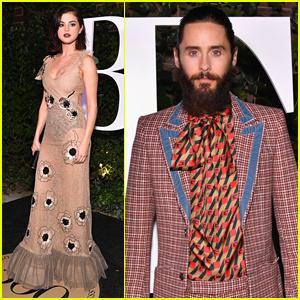 Selena Gomez & Jared Leto Arrive in Style for #BoF500 Gala