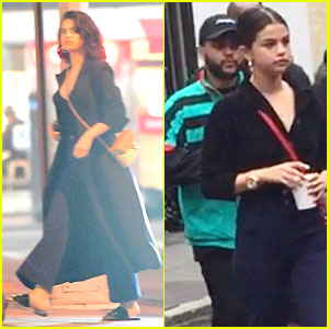Selena Gomez & The Weeknd Spend Time Together In New York City