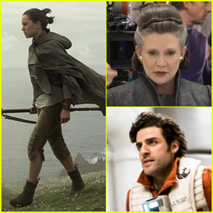 'Star Wars: The Last Jedi' Stills Tease What's to Come!