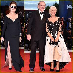 Susan Sarandon, Helen Mirren & Donald Sutherland Premiere 'Leisure Seeker' at Venice Film Festival