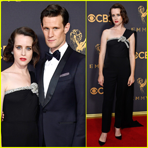 The Crown's Claire Foy & Matt Smith Couple Up for Emmys 2017