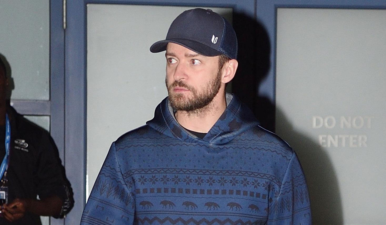 Justin Timberlake Attends U.S. Open Again 99a05ec73aa