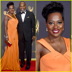 Viola Davis Rocks Custom Zac Posen on the Emmys 2017 Red Carpet!