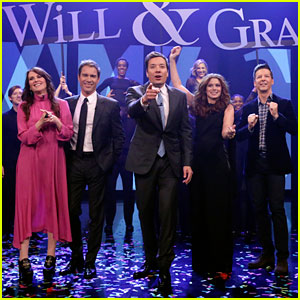 'Will & Grace' Cast Perform Theme Song With Lyrics for the First Time With Jimmy Fallon - Watch!