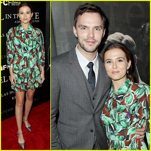Zoey Deutch & Nicholas Hoult Premiere 'Rebel in the Rye' in NYC