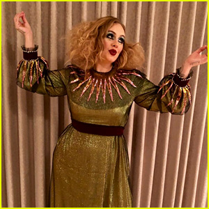 Adele Goes Glam for Early Halloween: 'I Can't with this Hair & Makeup'